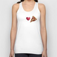 pizza Tank Tops featuring Pizza  by Anderssen Creative Imaging