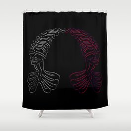 If Only (Heartless) Shower Curtain