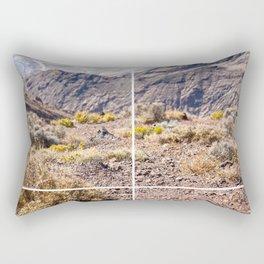 Death Valley view 02 Rectangular Pillow