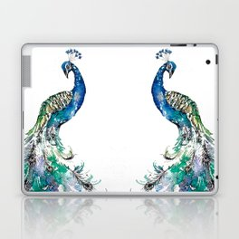 Double Peacocks Laptop & iPad Skin