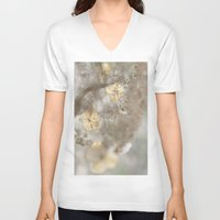 vegetable V-neck T-shirts featuring Sweet vegetable by Laurianne Ceneda