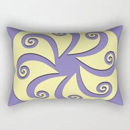 """Geometric Print """"Octo"""" Rectangular Pillow"""