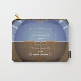 Attitude Indicator Flight Instrument Carry-All Pouch