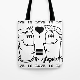 Equali-Tee: Buff 'n' Dandy Tote Bag