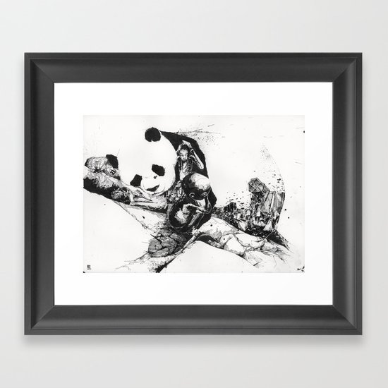 Chaos and order 2 Framed Art Print