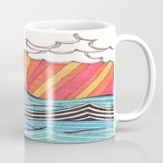 Rays of Sunshine on a Cloudy Day. Mug