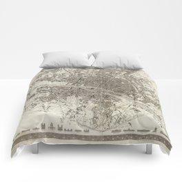 Paris 1860 Comforters