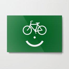 Bike Lane :) Metal Print