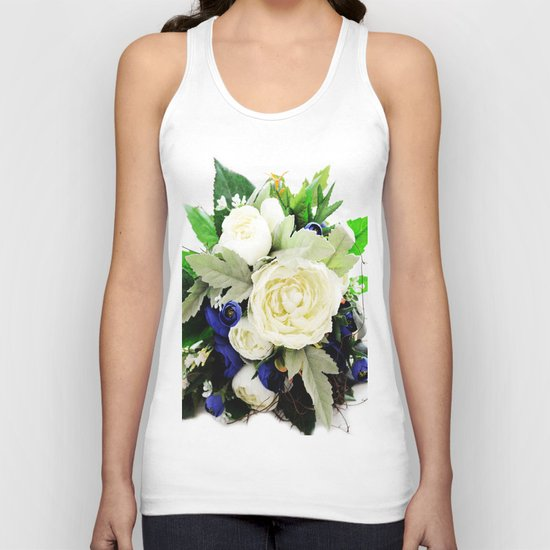 Flowers # Unisex Tank Top