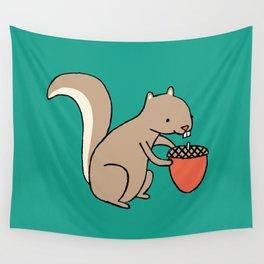 Squire squirrel Wall Tapestry
