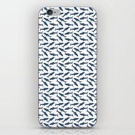 Whale Shark Pattern iPhone Skin