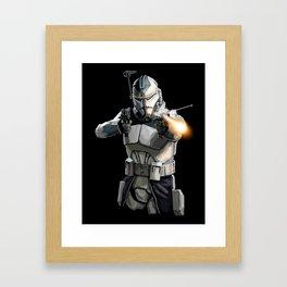 Commander Wolffe p.2 Framed Art Print