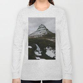 Kirkjufellsfoss, Iceland Long Sleeve T-shirt