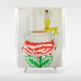 Illixer of Life Shower Curtain