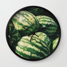 Watermelons Wall Clock