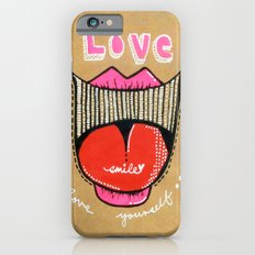 Love smile : Love Yourself iPhone 6s Slim Case