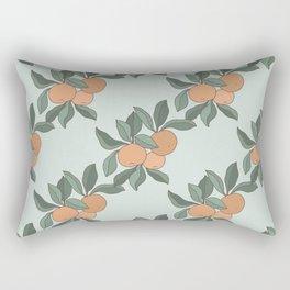 Botanic Oranges Rectangular Pillow