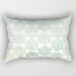 Geometric Sand & Sea Rectangular Pillow