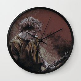 Deaner in the Fog Wall Clock