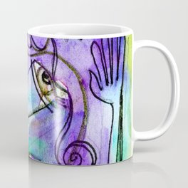 Abstract Nude Goddess No. 40C by Kathy Morton Stanion Coffee Mug