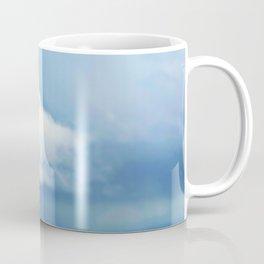 Thunderstorm over Mont St Michel France Coffee Mug