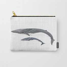 Fin whale Carry-All Pouch
