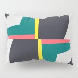 Modern Geometric 65 Green Pillow Sham