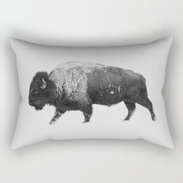 Buffalo, Bison Rectangular Pillow