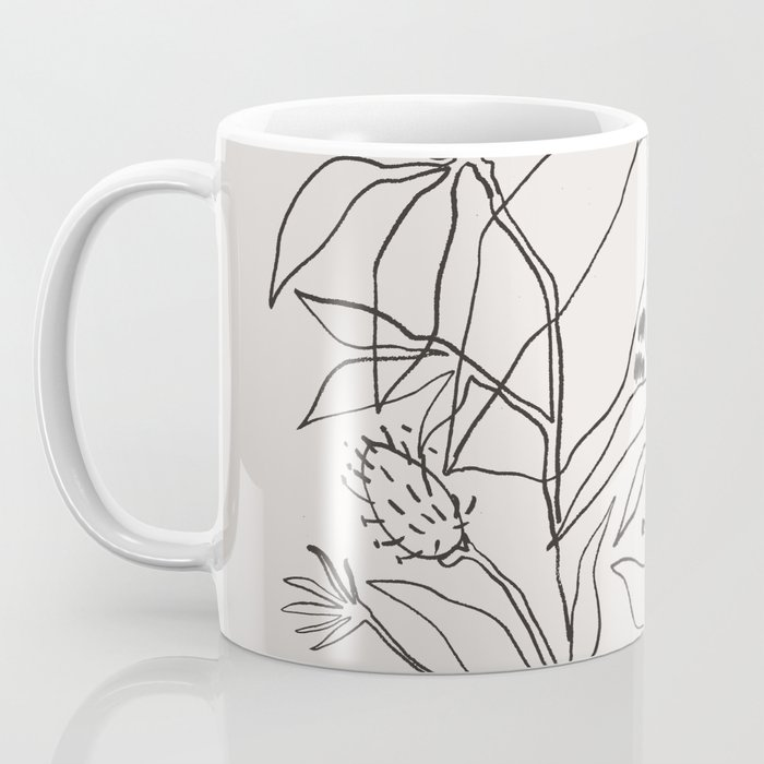 Charcoal Tropics Kaffeebecher