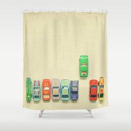 False Start Shower Curtain