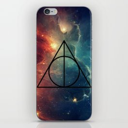 Deathly Hallows Cosmos HP iPhone Skin
