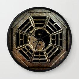 Yin Yang Bagua Wall Clock
