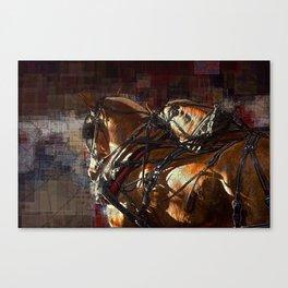 Work Horses Canvas Print