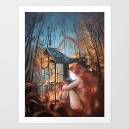 Essence of Silence Art Print