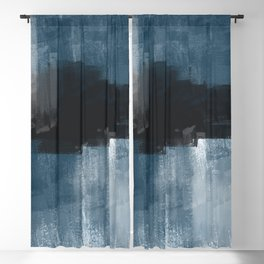 Abstract wall art, Blackout Curtain