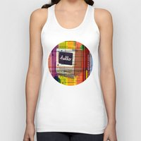mac Tank Tops featuring Hello Mac by Roberlan Borges