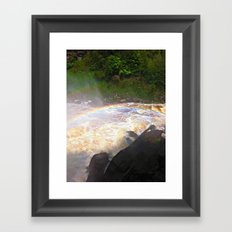 Rainbows In The Mist Framed Art Print