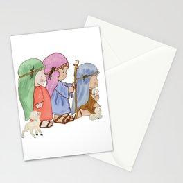 The three kings nativity Stationery Cards