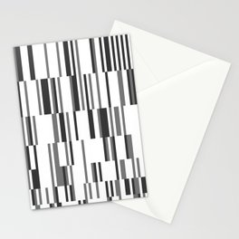 Stripe Rhythm Stationery Cards