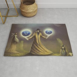 Sorcerer Spells Of Earth and Air Rug