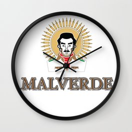 Jesus Malverde - Saint of the Drug Lords Wall Clock