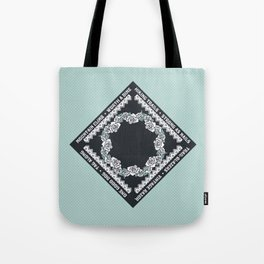 Hiking Trails-Strong as Nails Tote Bag