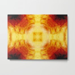 Magma Shrine Metal Print