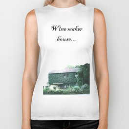 Wine maker house Biker Tank