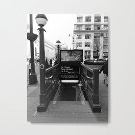 PENN STATION NY Metal Print