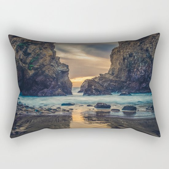 Touch of the Sea Rectangular Pillow