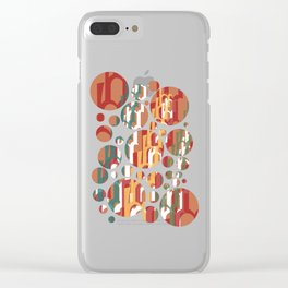 Escalation Clear iPhone Case