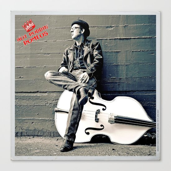 Rockin' Billy Burns Canvas Print