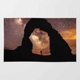 Milky Way Stargazing under a Desert Arch Rug