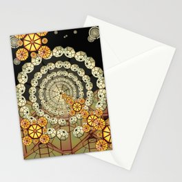 ACAC 9 Geometric Encounters Stationery Cards